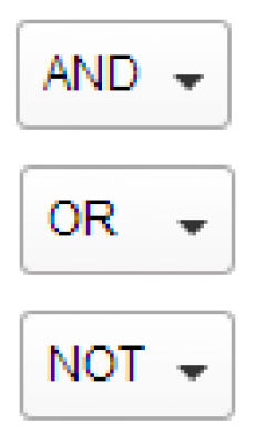 Boolean Drop Down